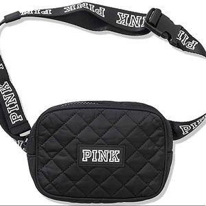 PINK Victoria's Secret Quilted Shoulder/Belt Bag